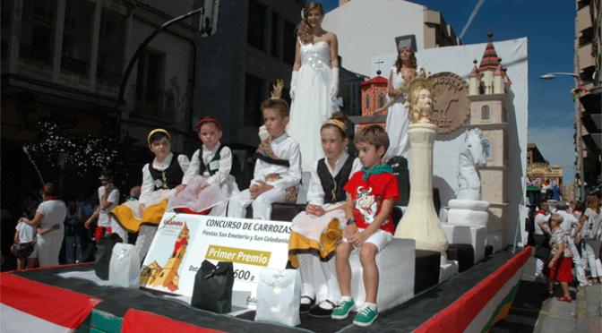 Bases del concurso de carrozas para las fiestas patronales de agosto 2017