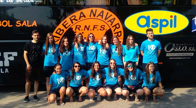 Aitana Ruiz, la portera alfareña compitió en el Campeonato de España Juvenil