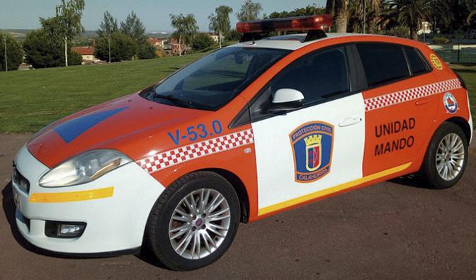 Nuevo coche para la agrupación calagurritana de Protección Civil