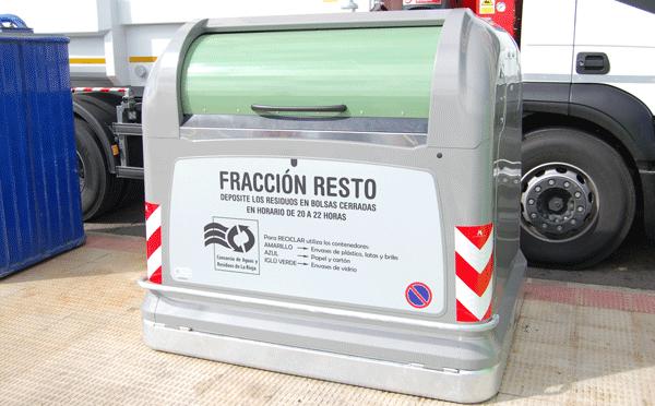 Nuevos contenedores de fracción resto en Calahorra