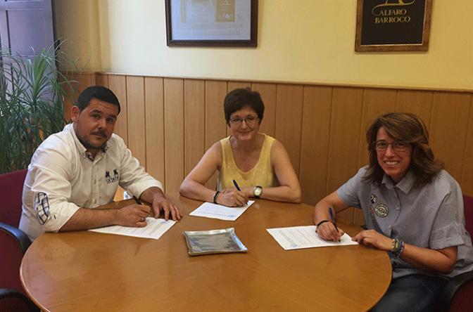 Convenio ADECA y Ayuntamiento de Alfaro