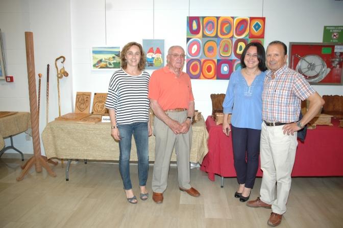 Inaugurada la XIII Exposición del Centro de personas adultas de Calahorra