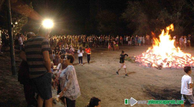 Calahorra celebró la noche de San Juan en el Parque del Cidacos