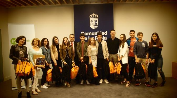 El equipo 'Making Europe', del IES Valle del Cidacos, vencedor del concurso Euroscola