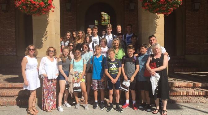 Estudiantes de la Escuela Cardinal Newman de Brighton visitan Calahorra