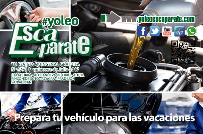 """Escaparate 1ª Quincena de Julio """"Prepara tu vehículo para las vacaciones"""" 🚗🔧"""