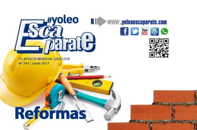 ⚠🚧 Te ayudamos con las reformas en Escaparate Alfaro Junio 2017 📲
