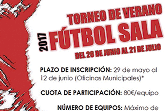 Torneo de verano de Futbol Sala de Pradejón