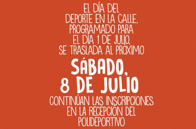 Dia del deporte en la calle en Rincón de Soto