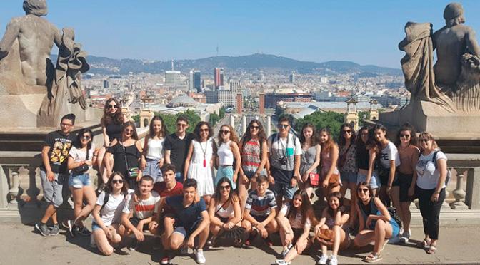 Viaje de estudios de los alumnos de 4º ESO del Ies Valle del Cidacos