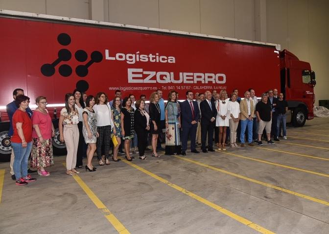 Logística Ezquerro inaugura sus nuevas instalaciones