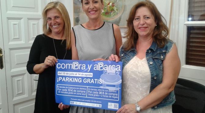 """Vuelve la campaña comercial """"Compra y Aparca"""""""