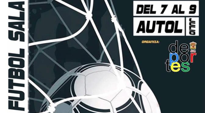 El viernes comienzan las 48 horas de futbol sala en Autol