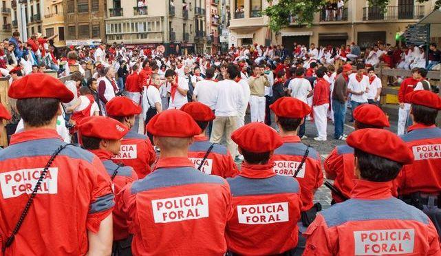 Los distintos Cuerpos que operan en Navarra se coordinarán para ofrecer seguridad ciudadana en Sanfermines