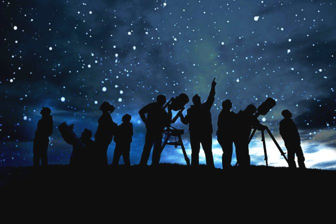 Actividades de observación de estrellas