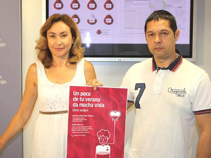 'Un poco de tu verano da mucha vida' es el nuevo lema del Banco de Sangre para impulsar la donación durante el periodo estivaI