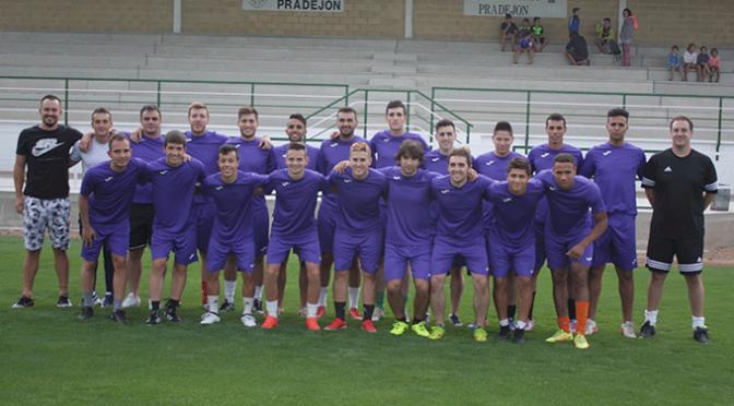 Comienzo de temporada del C.D. Pradejón de Tercera División