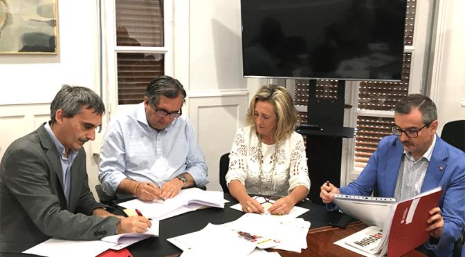 Convenio de colaboración entre la Universidad de La Rioja y el Ayuntamiento de Calahorra