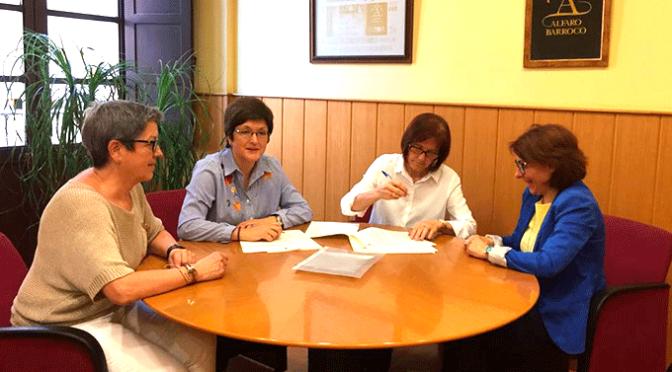 El Ayuntamiento de Alfaro renueva el convenio de colaboración con La Asociación para la Demencia de Alzheimer