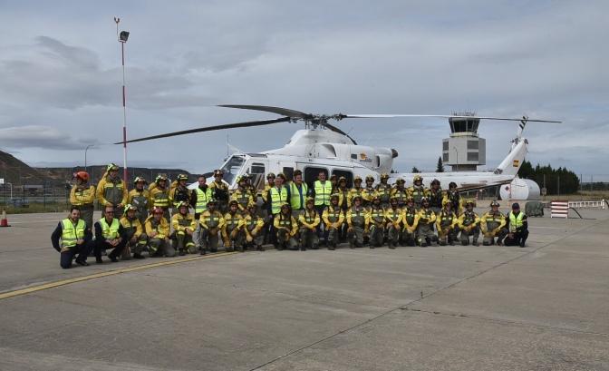 Más de 300 profesionales afrontarán la temporada de alto riesgo de incendios forestales en La Rioja