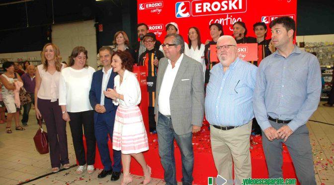 Reinaguración de Hipermercado Eroski