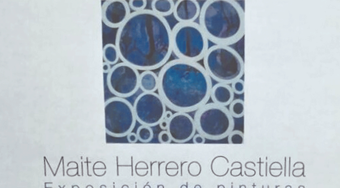 Exposición de pinturas de Maite Herrero en La Comedia