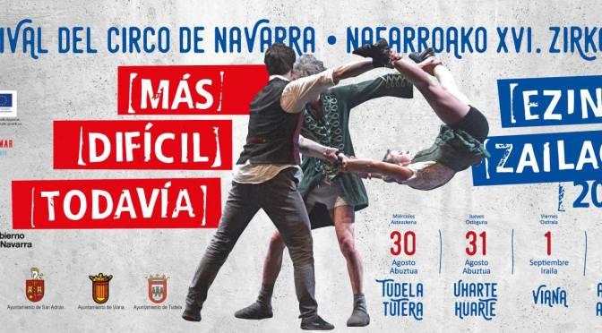 XVI Festival de circo de Navarra