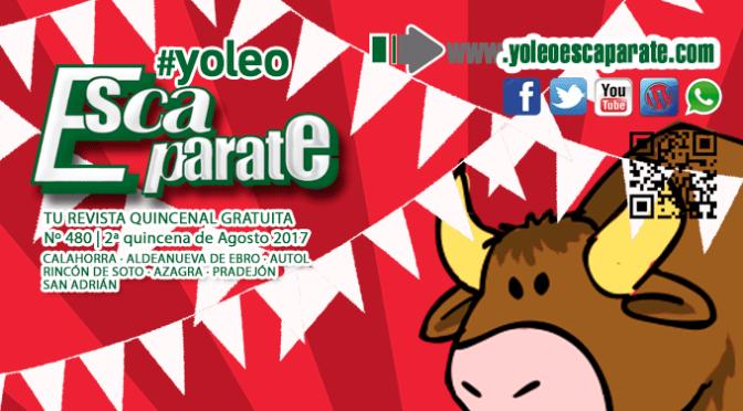 🎉🎉 Escaparate: Especial fiestas Aldeanueva de Ebro y Calahorra 🐮🔻 😄Felices Fiestas 👏