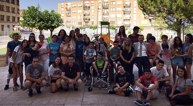 20 jóvenes con discapacidad intelectual disfrutan en Alfaro del campamento de verano