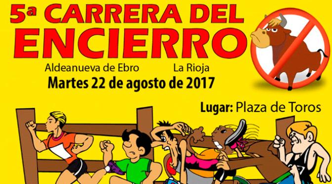 5ª Carrera del encierro en Aldeanueva de Ebro