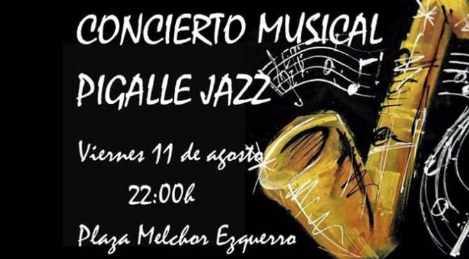 Concierto de jazz este viernes en Pradejón