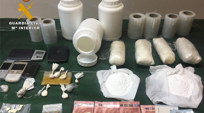 Operacion Rocafest desmantela un laboratorio de metanfetamina