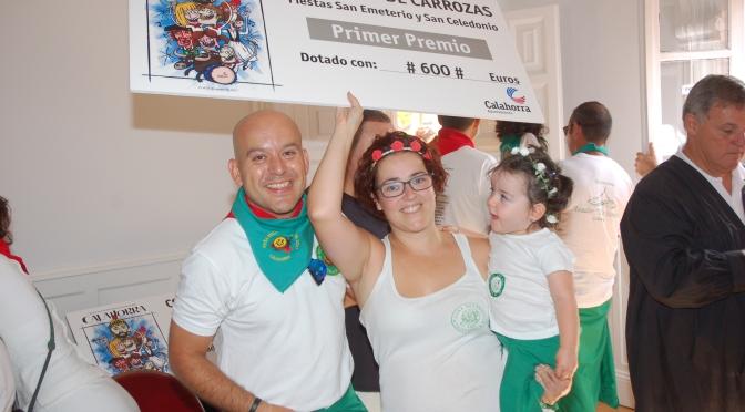 Enhorabuena a la Peña el Sol, carroza ganadora de concurso de fiestas