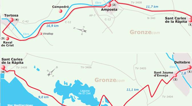 Comienza el Camino Jacobeo del Ebro