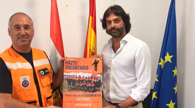 Campaña captación de voluntarios para Protección Civil