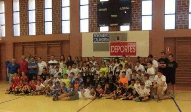19 equipos en la 30ª edición del Torneo de Futbol Sala Pequeñin