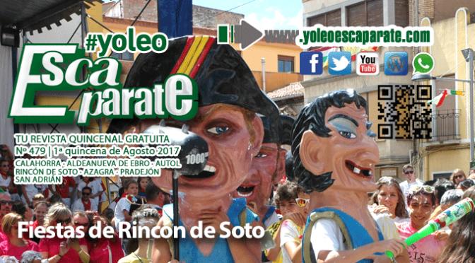 Fiestas en Rincón de Soto en ESCAPARATE 1ª Quincena de Agosto 2017