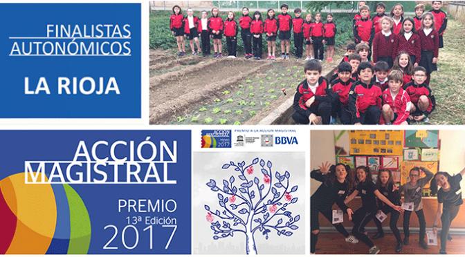 Agustinos finalista autonómico de los Premios Acción Magistral 2017