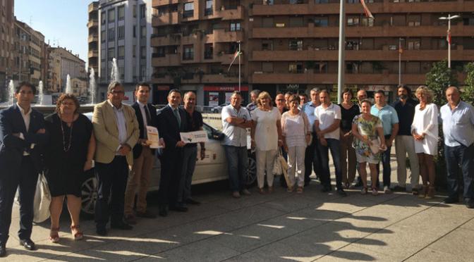 Los taxistas de La Rioja Baja se unifican