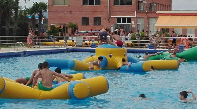 Celebración del Dia del Niño en el Polideportivo Calahorra