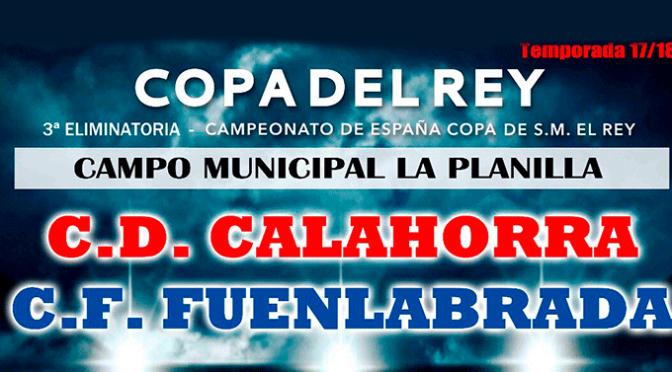 Hoy partido de Copa del Rey en Calahorra