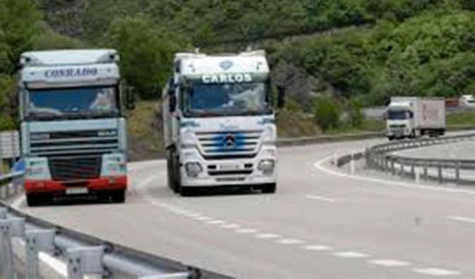 Pruebas para el reconocimiento para el transporte de mercancías y viajeros por carretera
