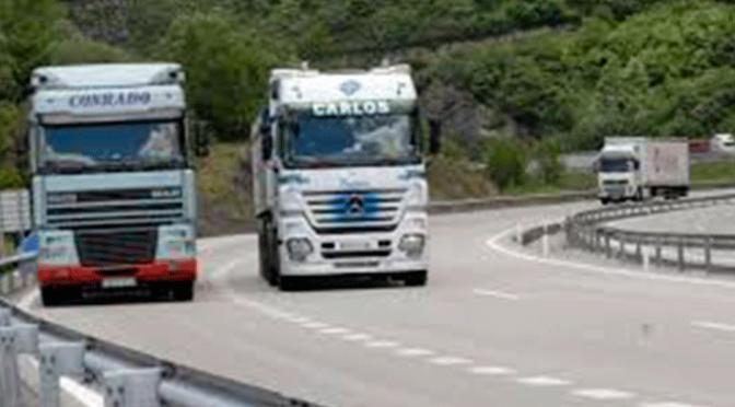 Nueva bonificación destinada al transporte pesado en la AP-68