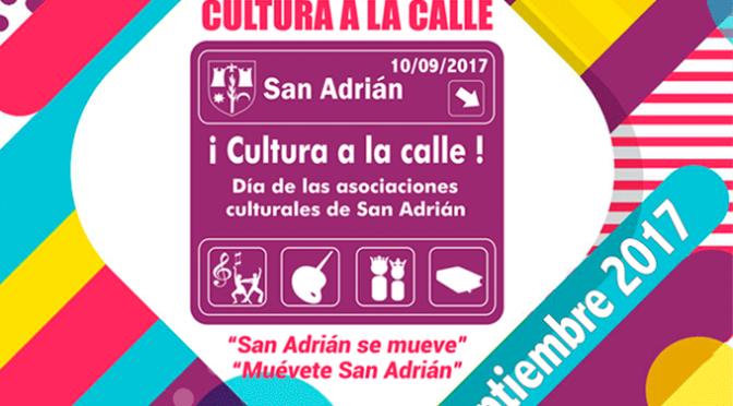 Día de las asociaciones culturales en San Adrián