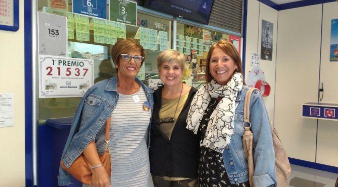 La administración de lotería de Alfaro reparte 1.800.000 euros con el primer premio de la Lotería Nacional