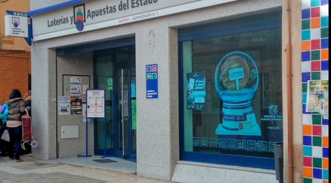 El primer premio de la Lotería Nacional del jueves vendido en Alfaro