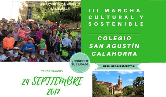 Agustinos se vuelca con la III Marcha cultural y sostenible