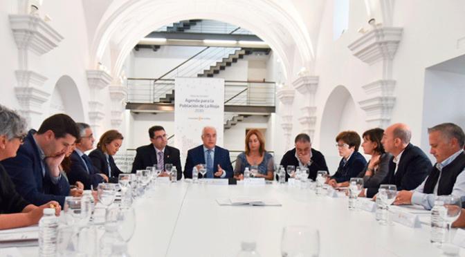 Constitucion de la mesa de los alcaldes