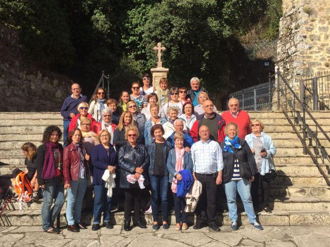 La Asociación de Peregrinos del Señor Santiago de Galicia Calahorra, de viaje