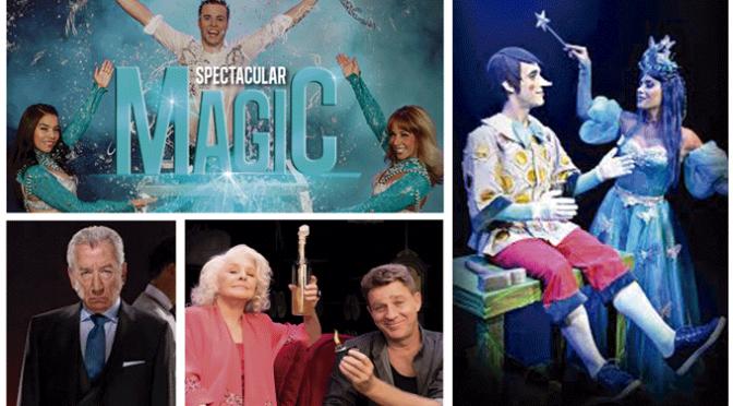 Musical, magia, teatro, concierto, galas… en la programación del Teatro Ideal